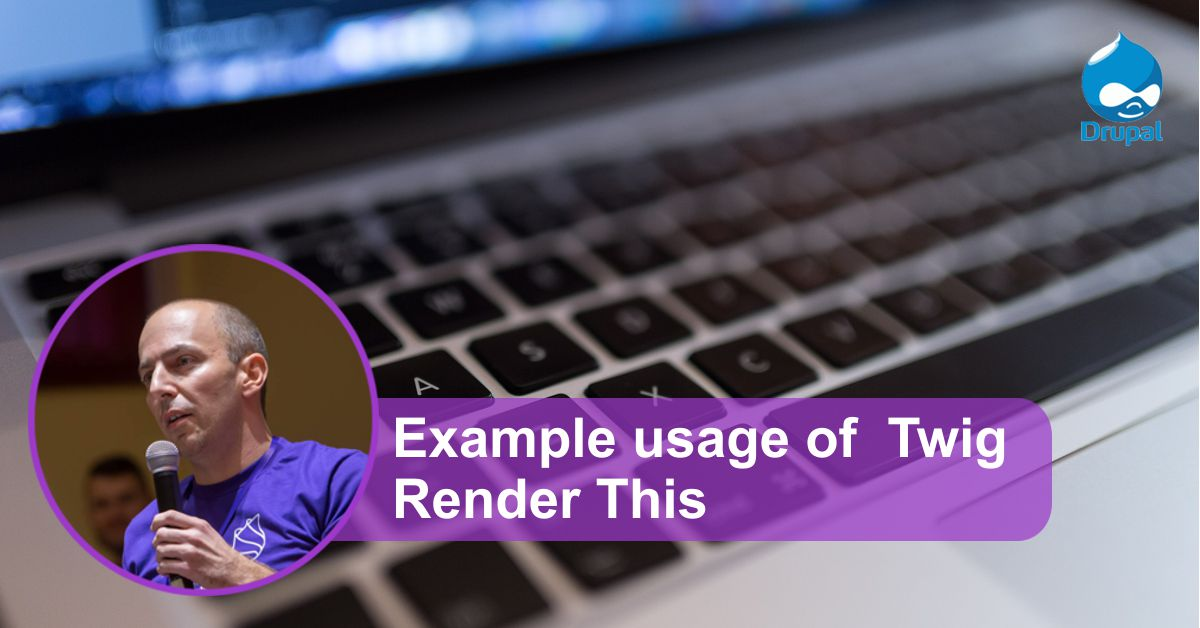 Example usage of Twig Render This   Goran Nikolovski